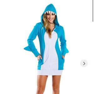 Shark dress costume